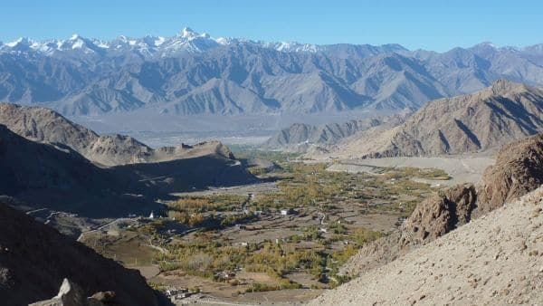 Leh, the capital of Ladakh is near our Guest House in Shey village